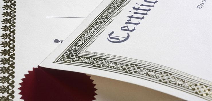 certificati e attestati di acustica ed energetica ambientale Ing. Adriano Cicorello